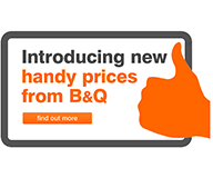 B&Q Handy prices